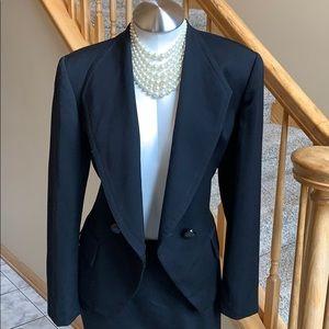 Vintage Christian Dior black size vintage 10